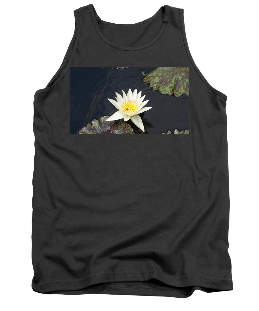 White Tank Top featuring the photograph Into The Center...  # by Rob Luzier