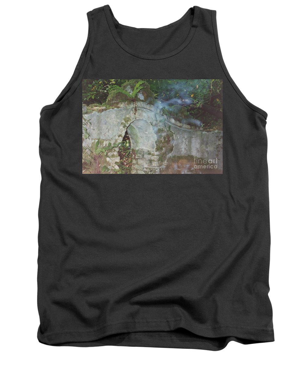 Ireland Tank Top featuring the photograph Ireland Ghostly Grave by First Star Art