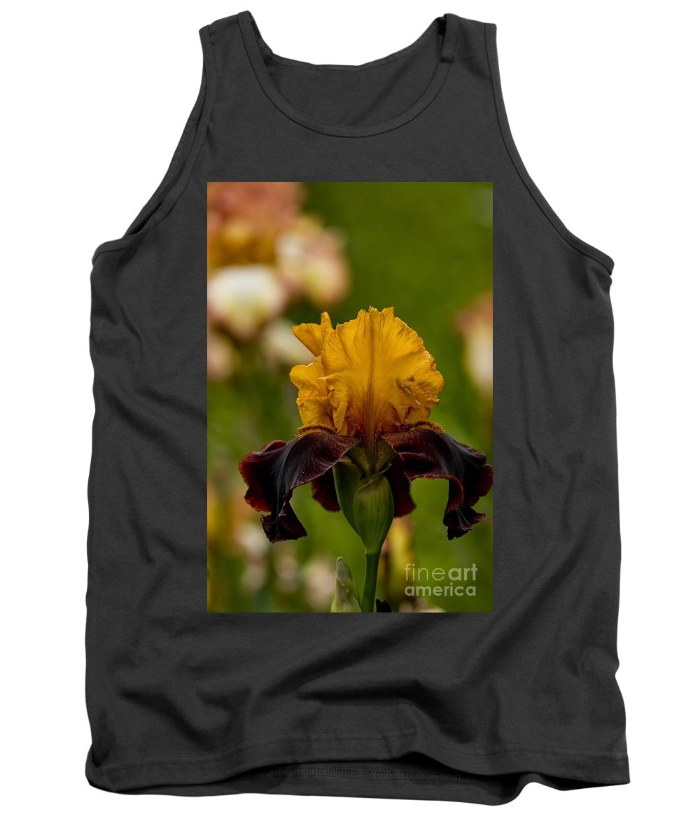 Iris Tank Top featuring the photograph Iris Pictures 149 by World Wildlife Photography