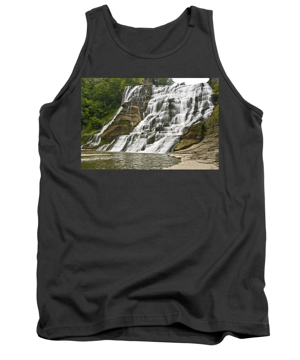 Ithaca Falls Tank Top featuring the photograph Ithaca Falls by Anthony Sacco