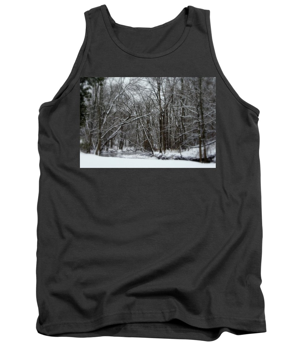 Winter Tank Top featuring the photograph Its A Beautiful Winter by Kay Novy