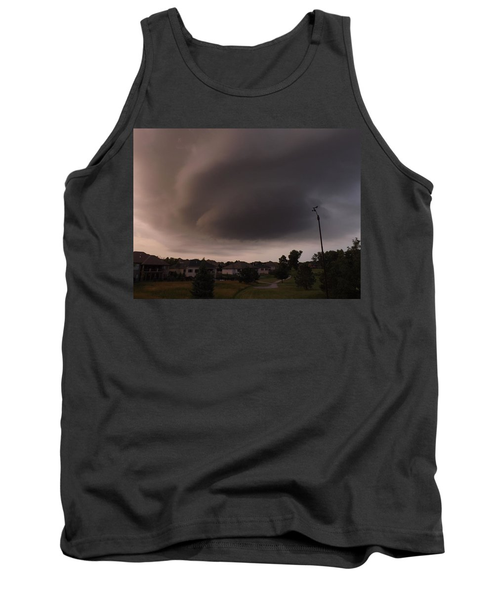 Weather Tank Top featuring the photograph It's Great When It's In Your Own Backyard by Caryl J Bohn