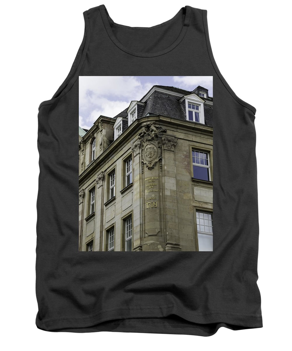 2014 Tank Top featuring the photograph Johann Maria Farina Factory Cologne Germany by Teresa Mucha