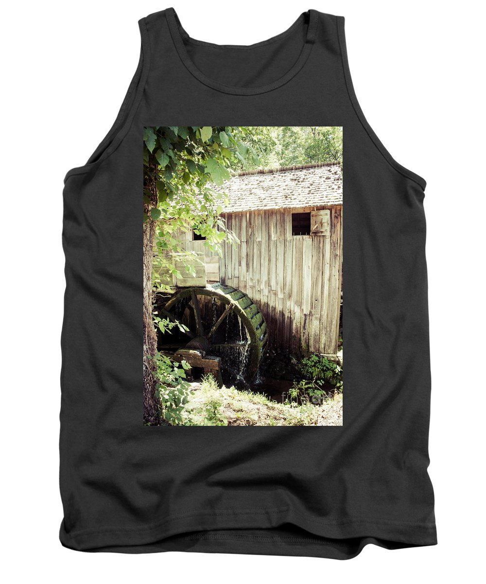 Summer Tank Top featuring the photograph John Cable Mill by Cheryl Baxter