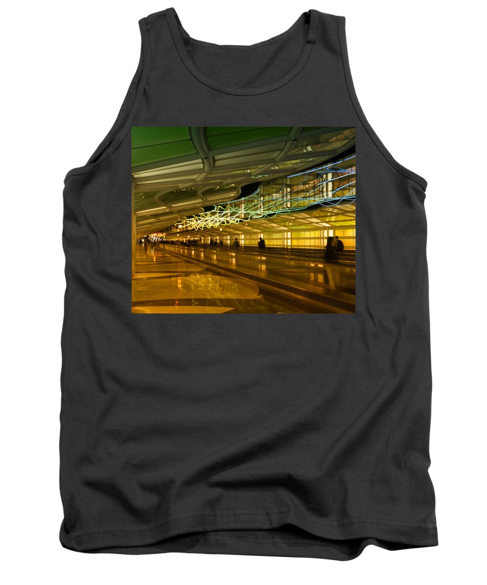 Light Tank Top featuring the photograph Journey Of Light by Miguel Winterpacht