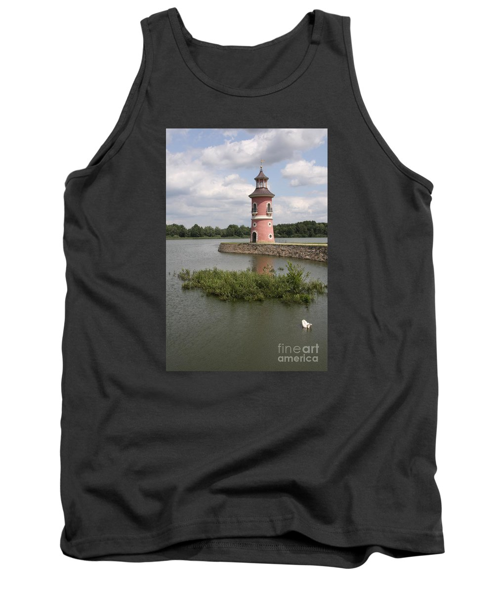 Lighthouse Tank Top featuring the photograph Just For Fun by Christiane Schulze Art And Photography