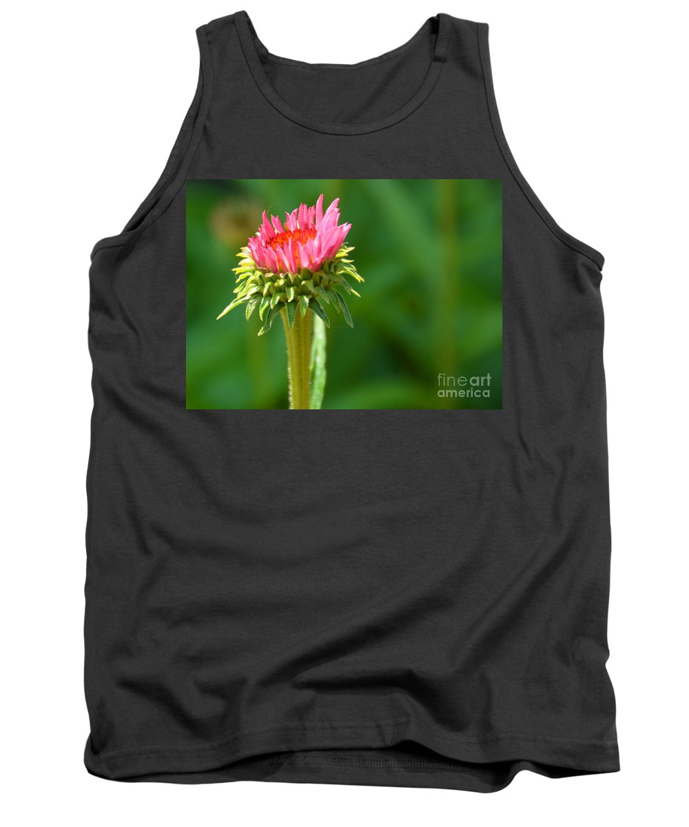 Just Started Tank Top featuring the photograph Just Started by Christine Dekkers