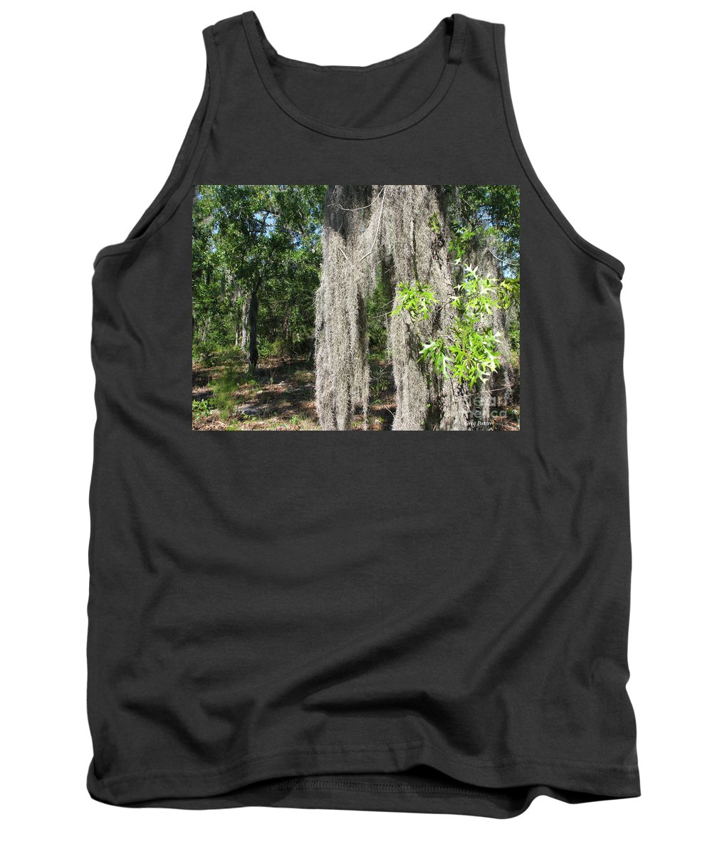 Patzer Tank Top featuring the photograph Just The Backyard by Greg Patzer