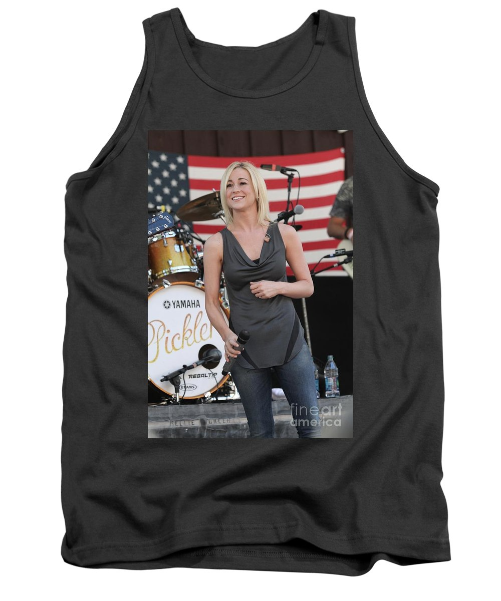 Television Personality Tank Top featuring the photograph Kellie Pickler by Concert Photos