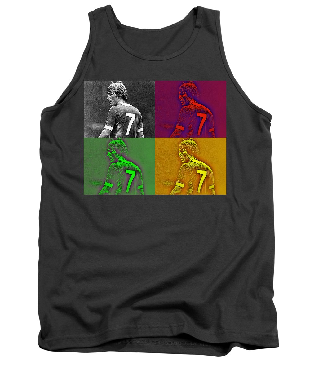 Poster Print Of The King Tank Top featuring the photograph King Kenny by Simon Kennedy
