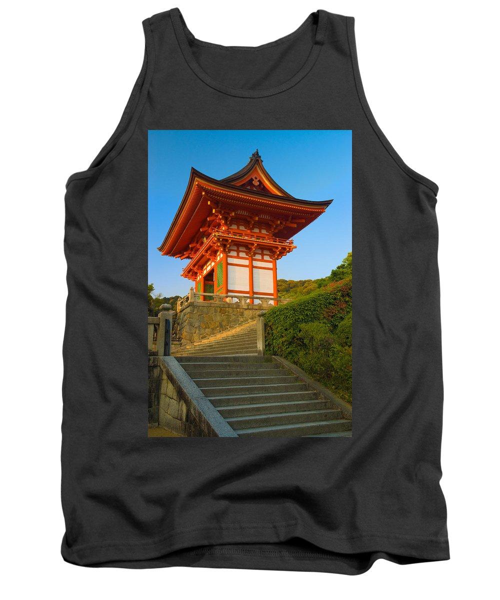 Pagoda Tank Top featuring the photograph Kiyomizudera Temple by Sebastian Musial