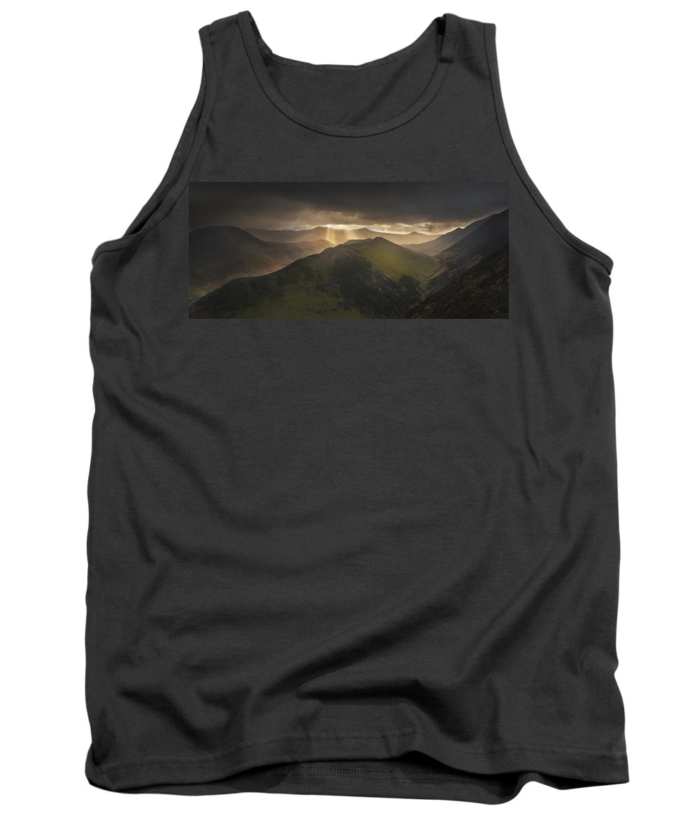 Lake District Tank Top featuring the photograph Knott Rigg Last Light by Nigel Forster