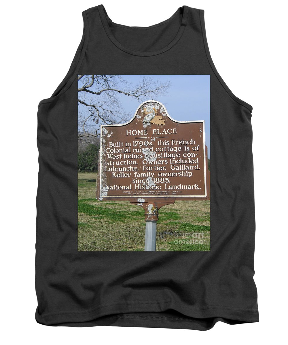 Home Place Tank Top featuring the photograph La-022 Home Place by Jason O Watson