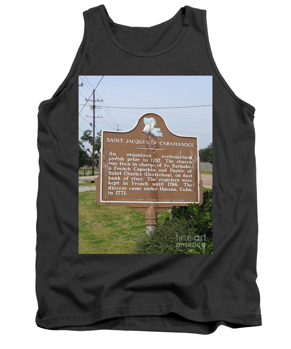 Saint Jacques Of Cabahanoce Tank Top featuring the photograph La-030 Saint Jacques Of Cabahanoce by Jason O Watson