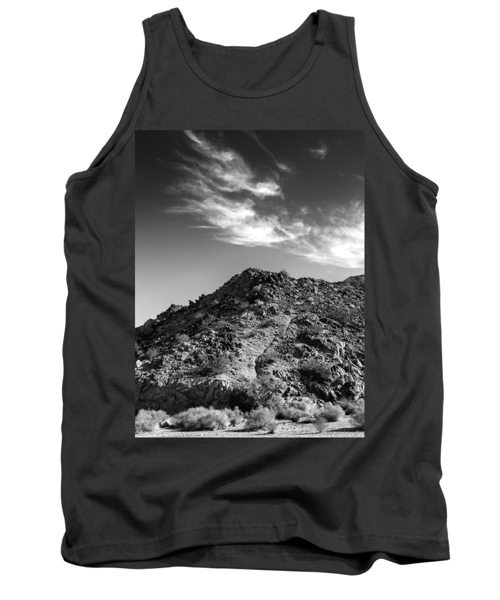 La Quinta Tank Top featuring the photograph La Quinta Early Morning by Dominic Piperata