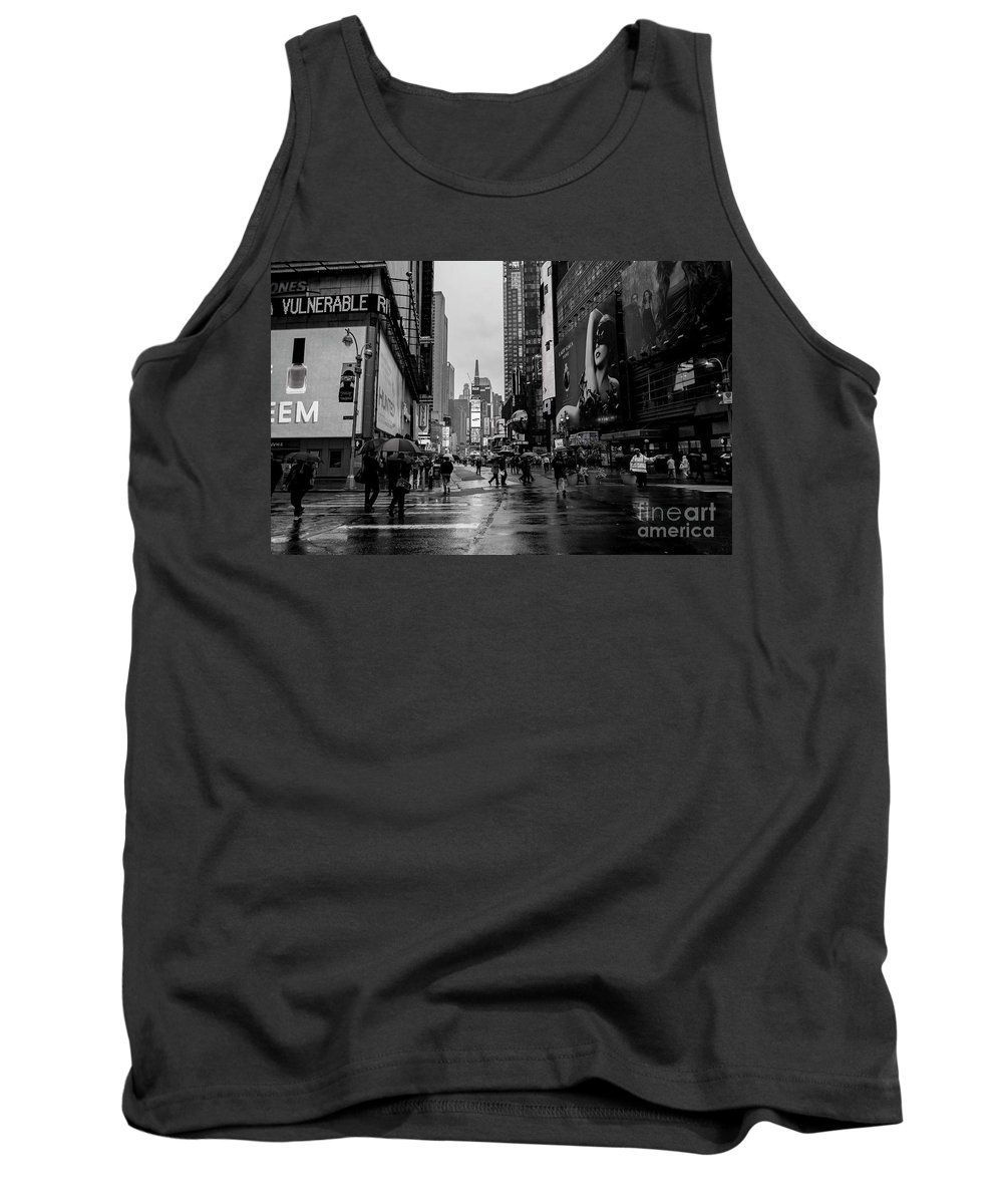 New York Tank Top featuring the photograph Lady Gaga by David Bearden