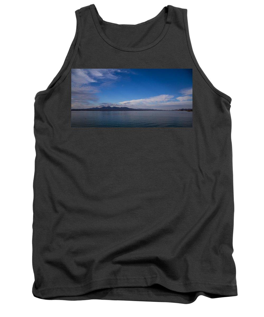 Lake Havasu City Tank Top featuring the photograph Lake Havasu by Angus Hooper Iii