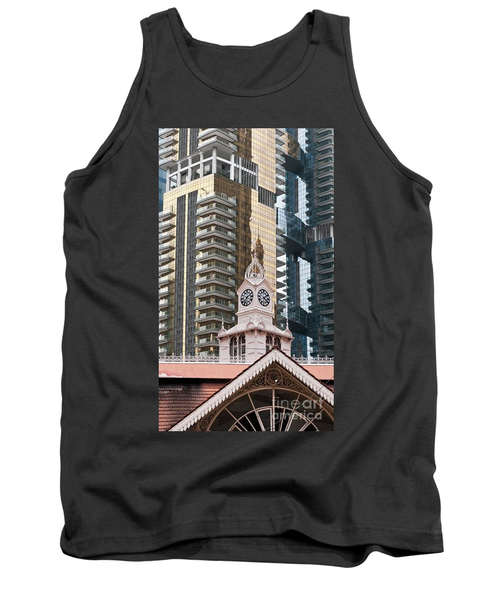 Singapore Tank Top featuring the photograph Lau Pa Sat Market 02 by Rick Piper Photography