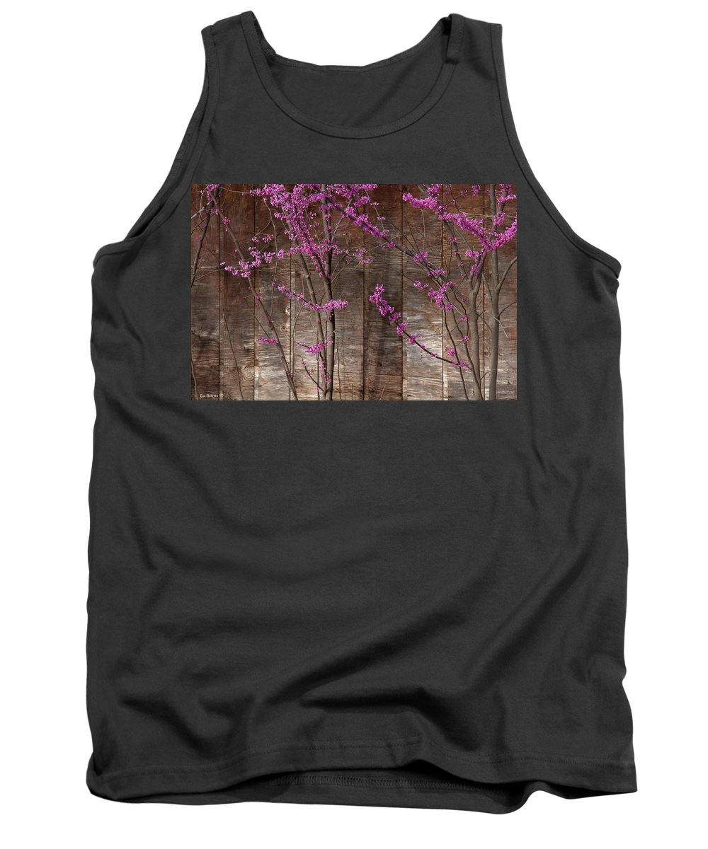 Lavender Shadows Tank Top featuring the photograph Lavender Shadows by Ed Smith