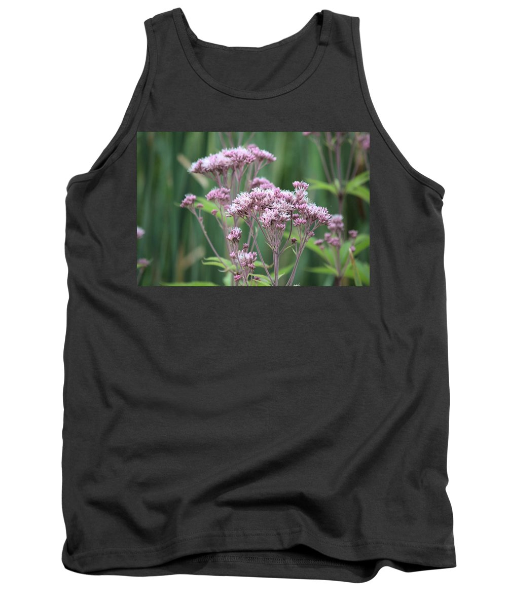 Wildflower Tank Top featuring the photograph Lavender Wildflower by Bonfire Photography