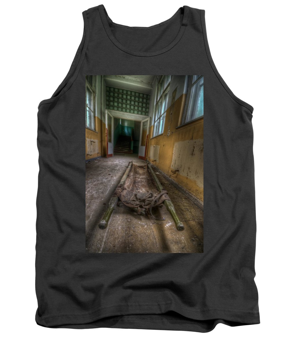 Soviet Tank Top featuring the digital art Layed To Rest by Nathan Wright