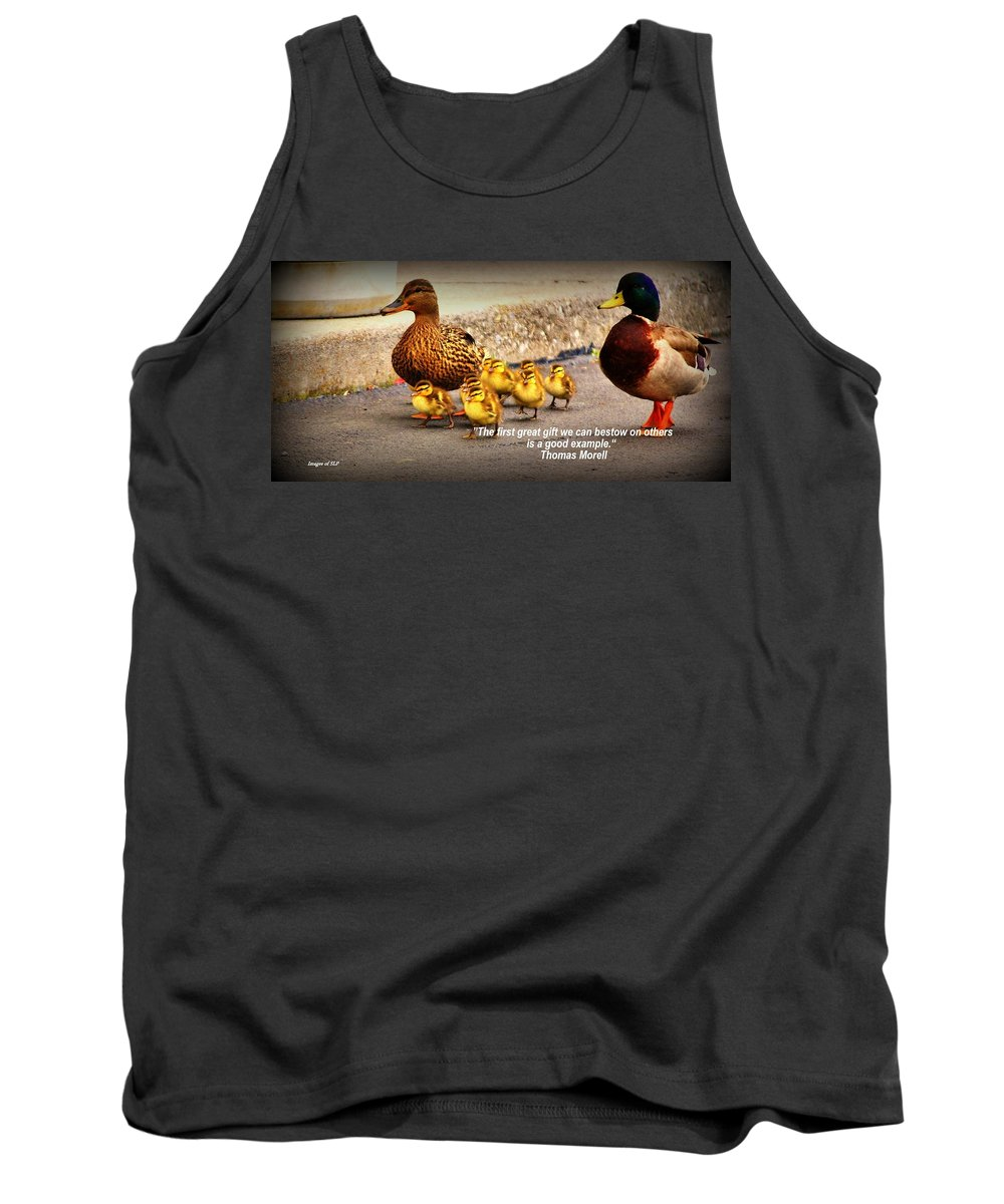 Example Tank Top featuring the photograph Lead By Example by Scott Polley