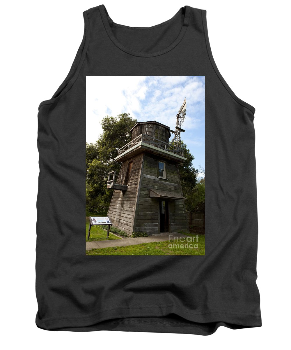 Leal Tank House Tank Top featuring the photograph Leal Tank House by Jason O Watson