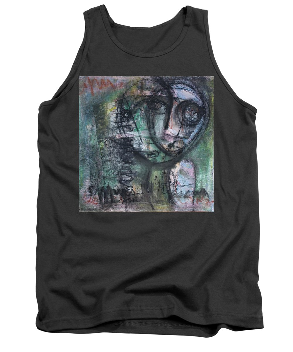 Life Tank Top featuring the painting Life As Ice Cream by Laurie Maves ART