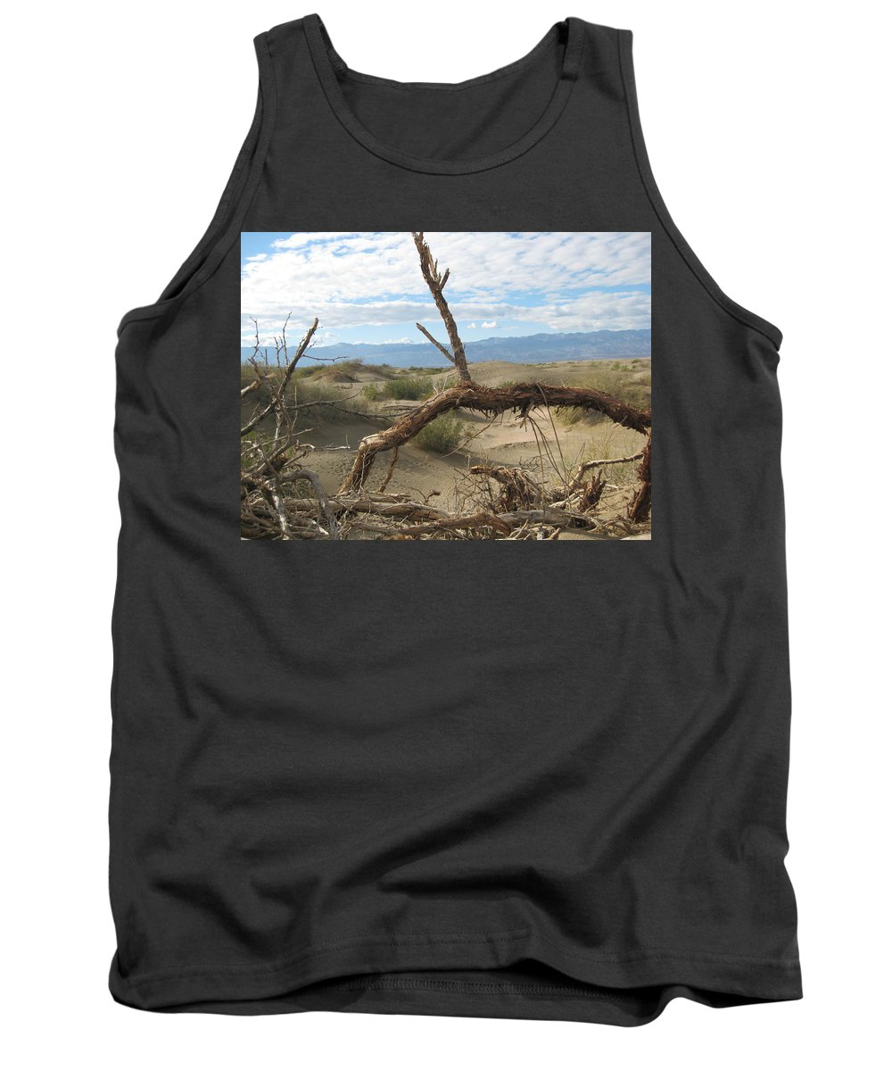 Death Valley Greeting Cards Tank Top featuring the photograph Life In The Desert by Robert Margetts