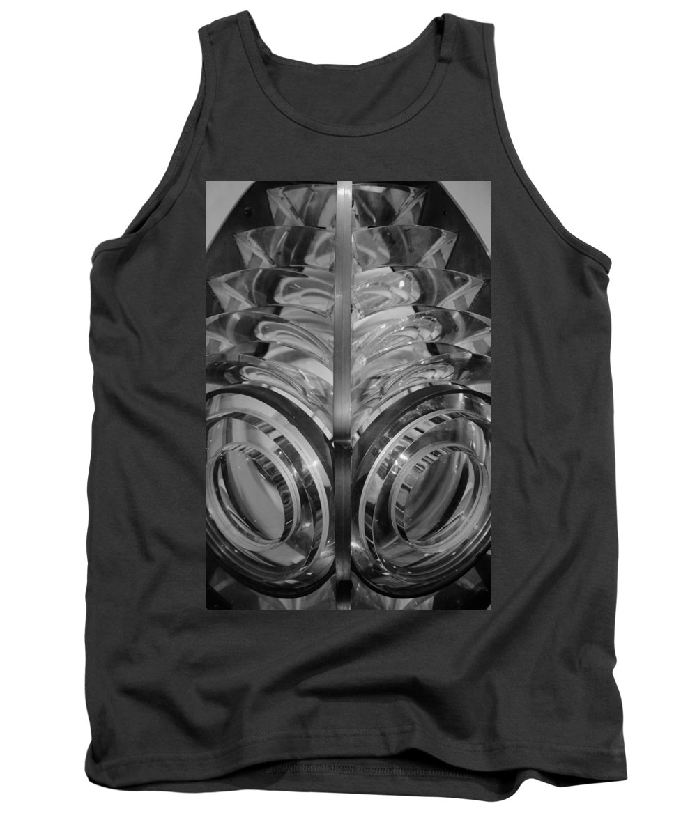 Lighthouse Tank Top featuring the photograph Light Me Up by Emma Motte
