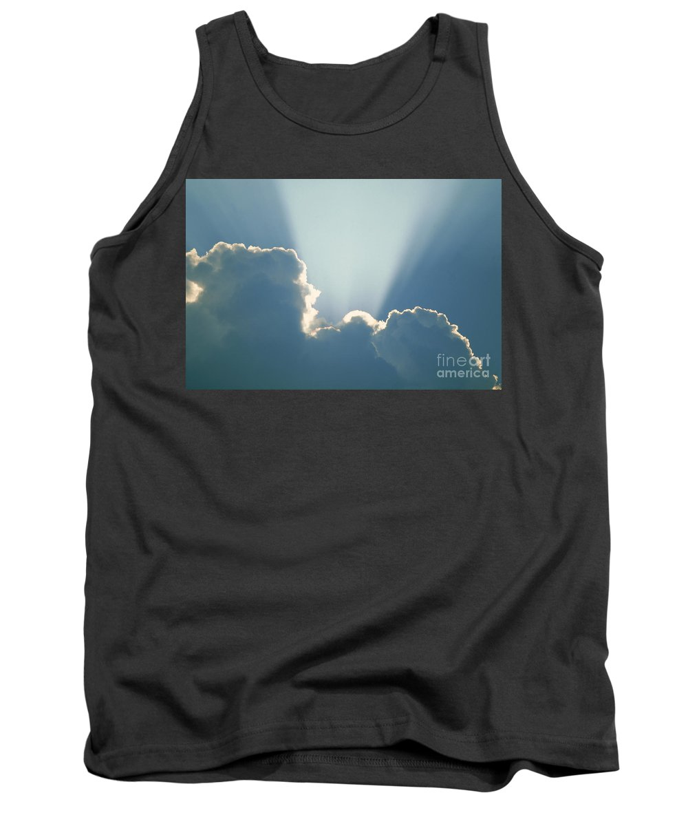 Ray Tank Top featuring the photograph Light Rays by David Davis
