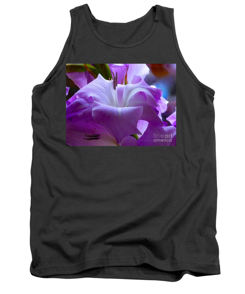 Lilac Flower Tank Top featuring the photograph Lilac Flower by Joan-Violet Stretch