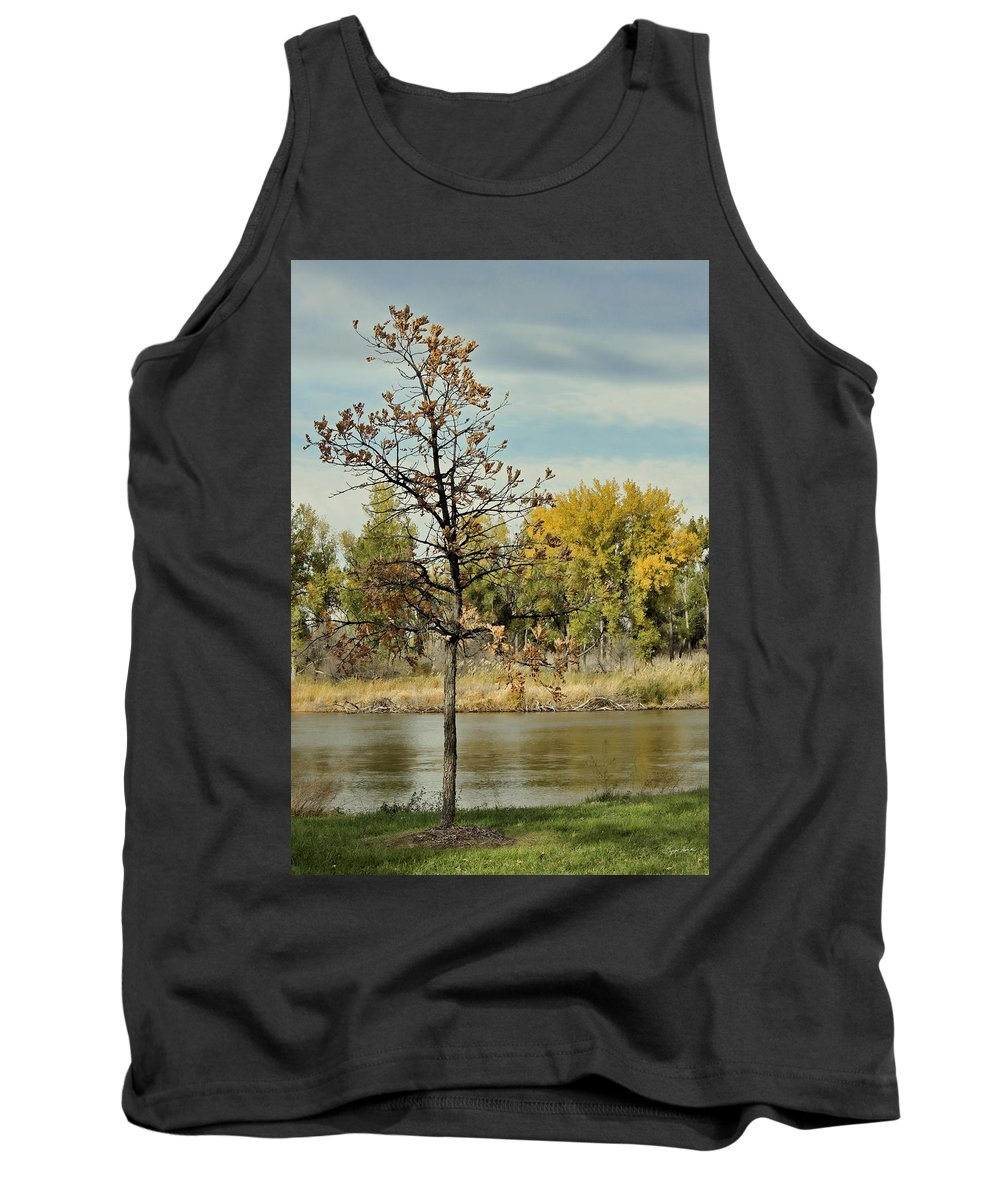 River Tank Top featuring the photograph Little Oak by Sylvia Thornton