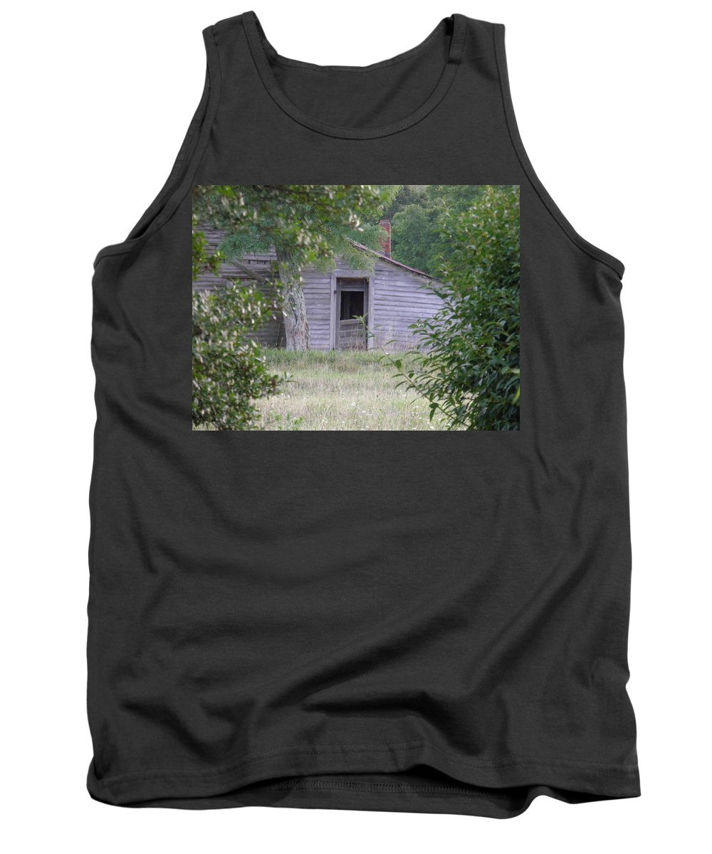 Door Tank Top featuring the photograph Lonely Doorway by Nick Kirby