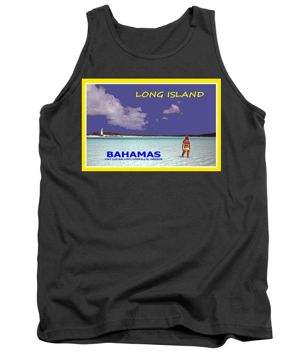 Long Island Tank Top featuring the photograph Long Island Bahamas IIi by Michael Moore