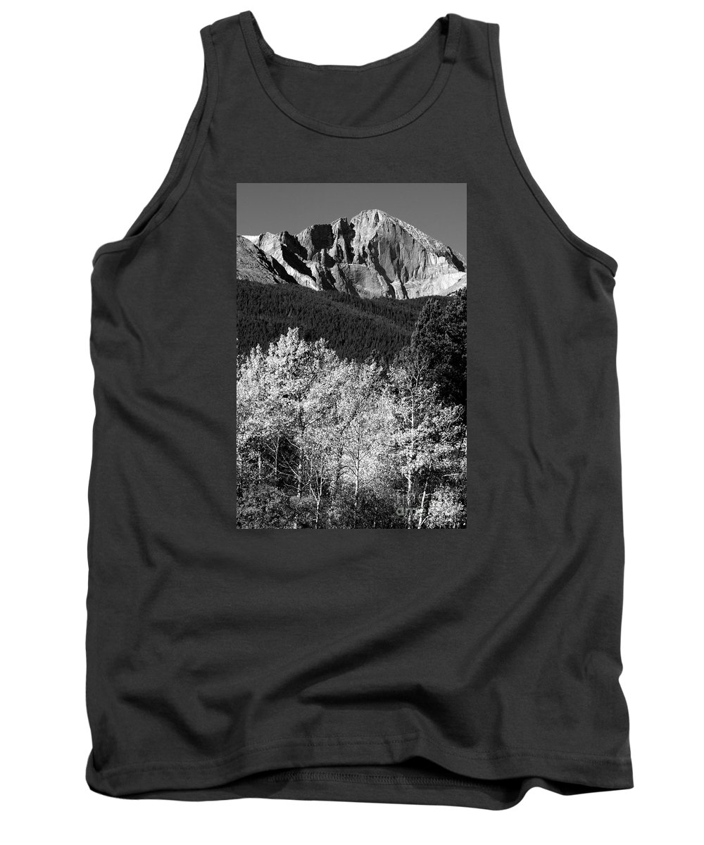 Longs Peak Tank Top featuring the photograph Longs Peak 14256 Ft by James BO Insogna