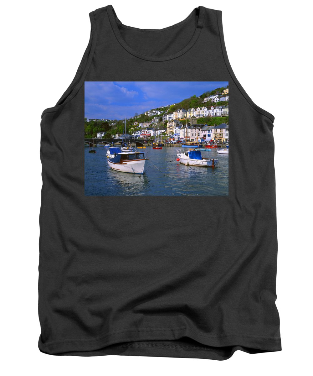 Looe Tank Top featuring the photograph Looe by Darren Galpin