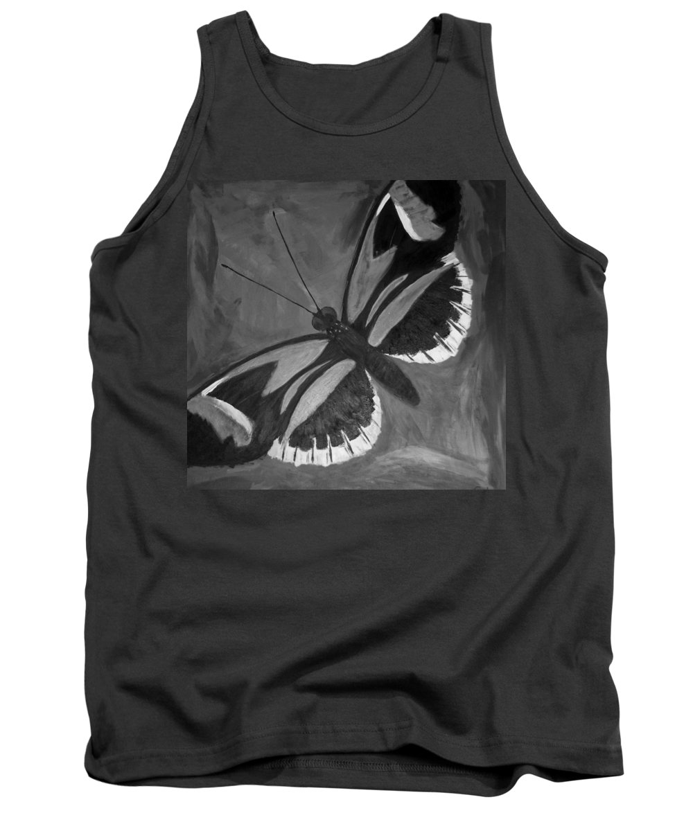 Lepidopterology Tank Top featuring the photograph Lord Of The Butterfly by Rob Hans