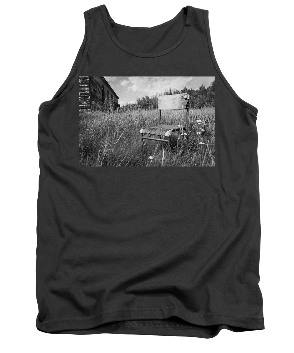 Chair Tank Top featuring the photograph Lost Home by The Artist Project