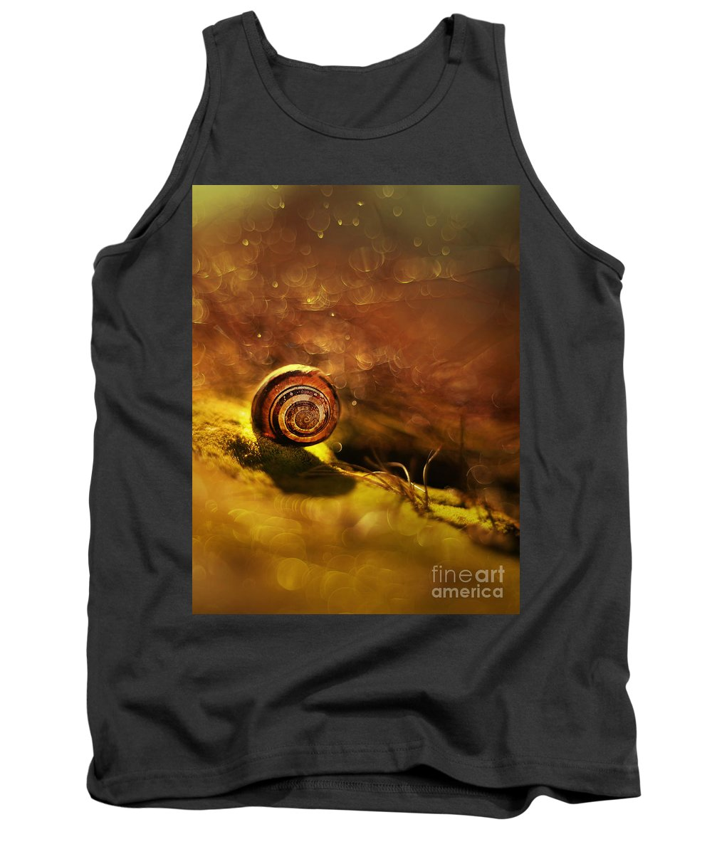 Lost Tank Top featuring the photograph Lost Shell by Jaroslaw Blaminsky