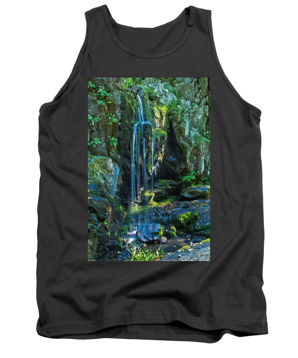 Lower Doyle River Falls Tank Top featuring the photograph Lower Doyle River Falls by Jemmy Archer
