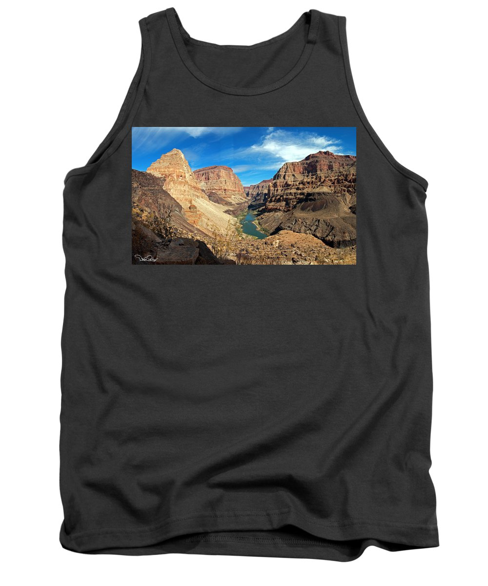 Lower Grand Canyon Tank Top featuring the photograph Lower Grand Canyon by David Salter