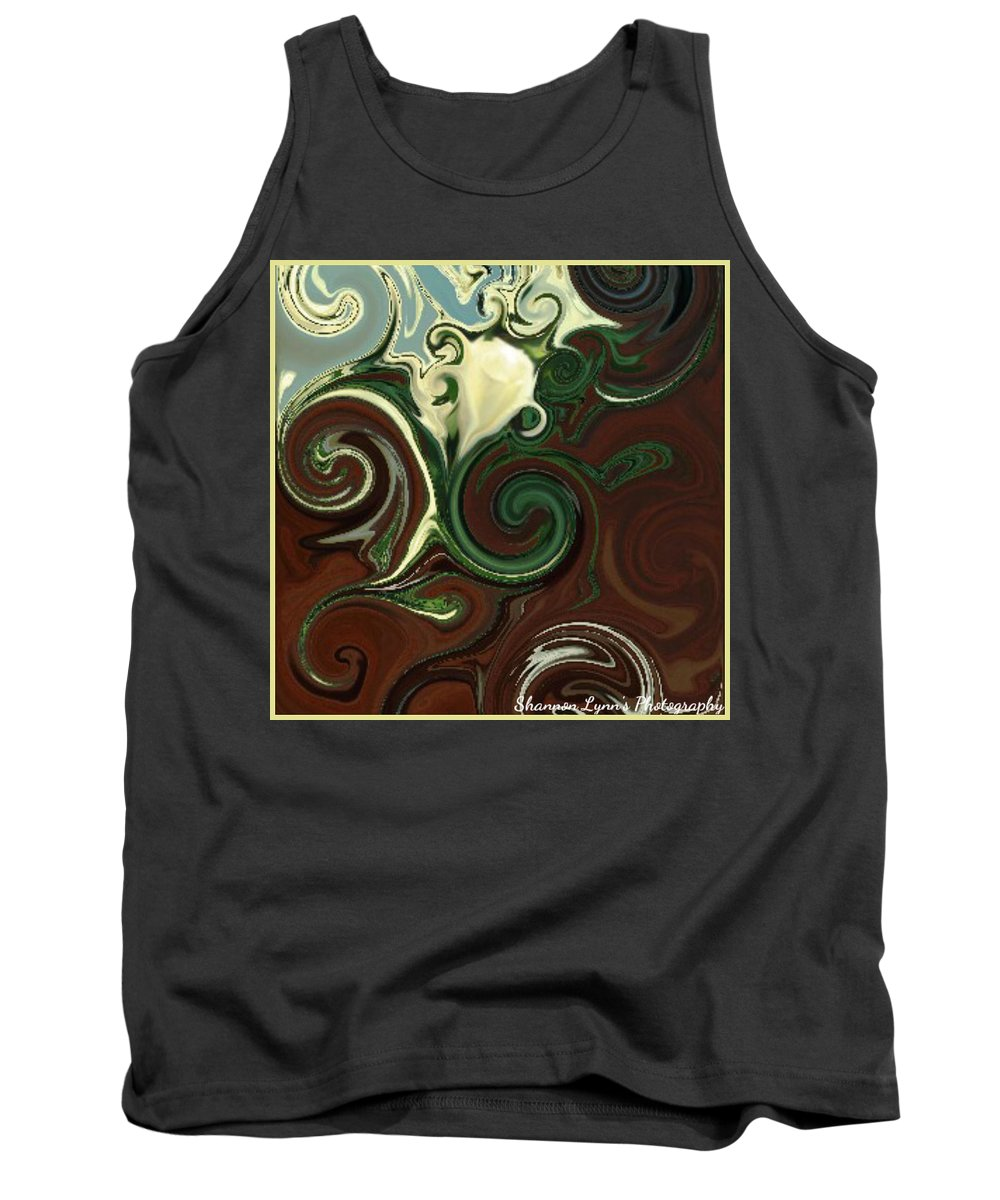 Rose Tank Top featuring the digital art Magical Beauty by Shannon Nolting