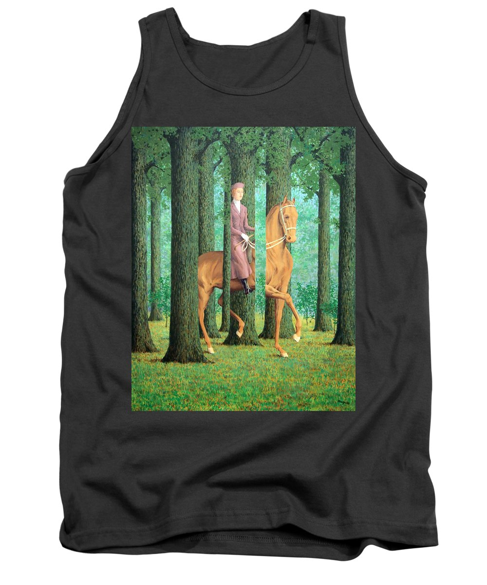 The Tank Top featuring the photograph Magritte's The Blank Signature by Cora Wandel