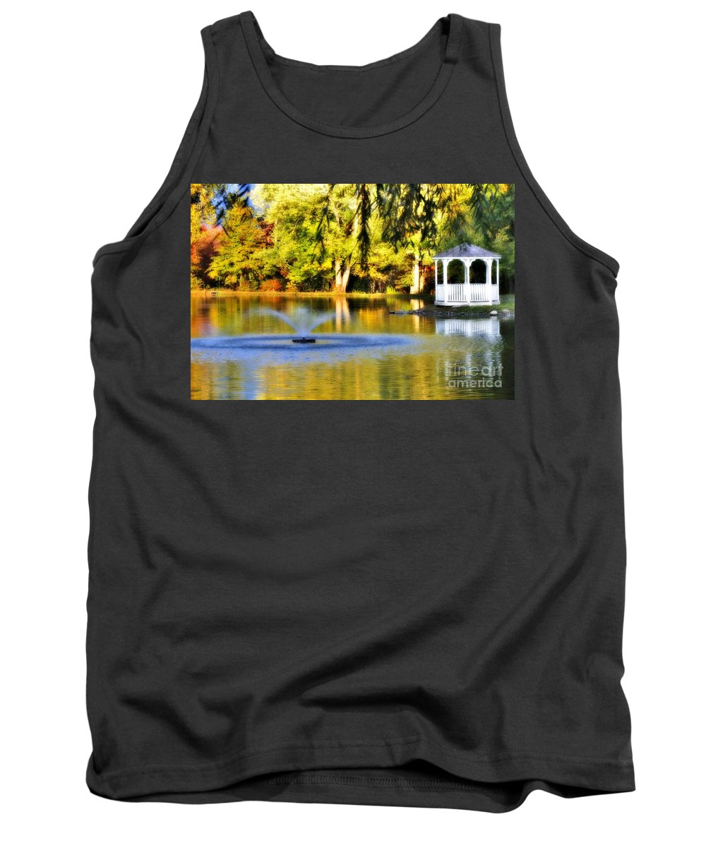Tank Top featuring the photograph Maples Farm 3 by Chet B Simpson