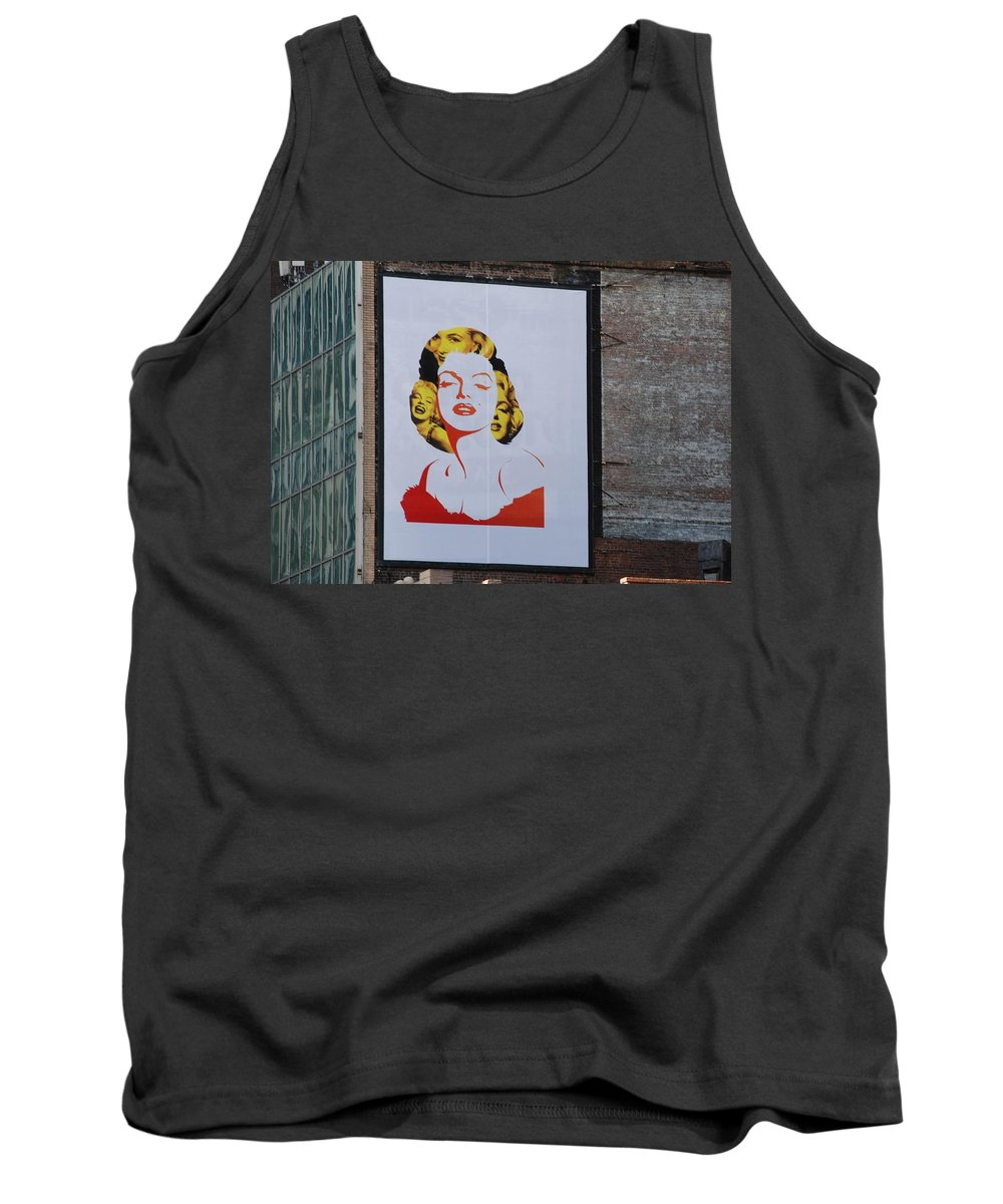 Marilyn Monroe Tank Top featuring the photograph Marilyn Monroe by Rob Hans