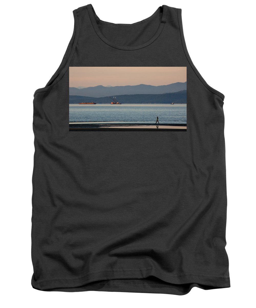 Boat Tank Top featuring the photograph Marine Traffic by Randy Hall