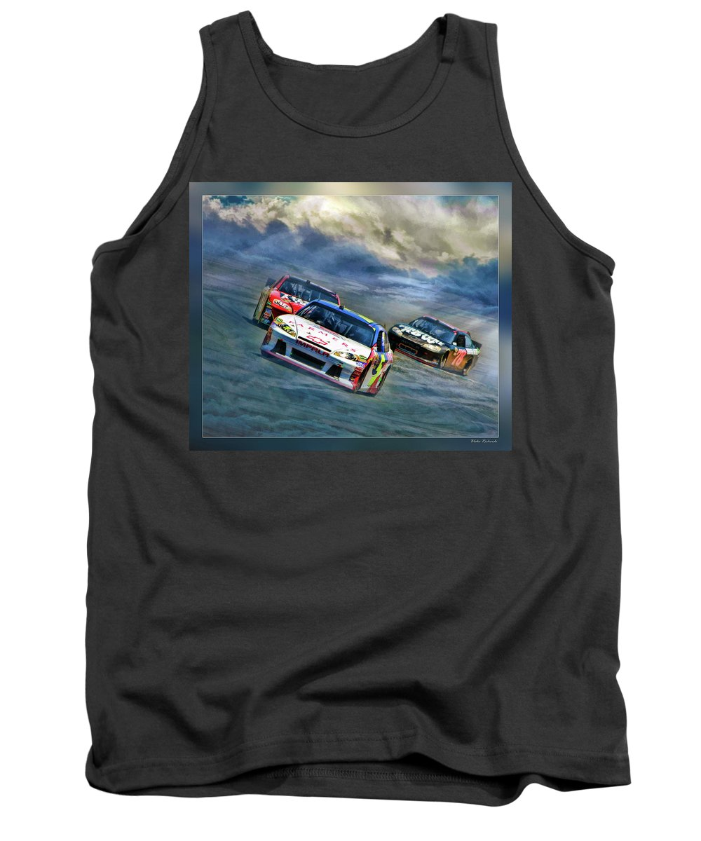 Mark Martin Tank Top featuring the photograph Mark Martin by Blake Richards