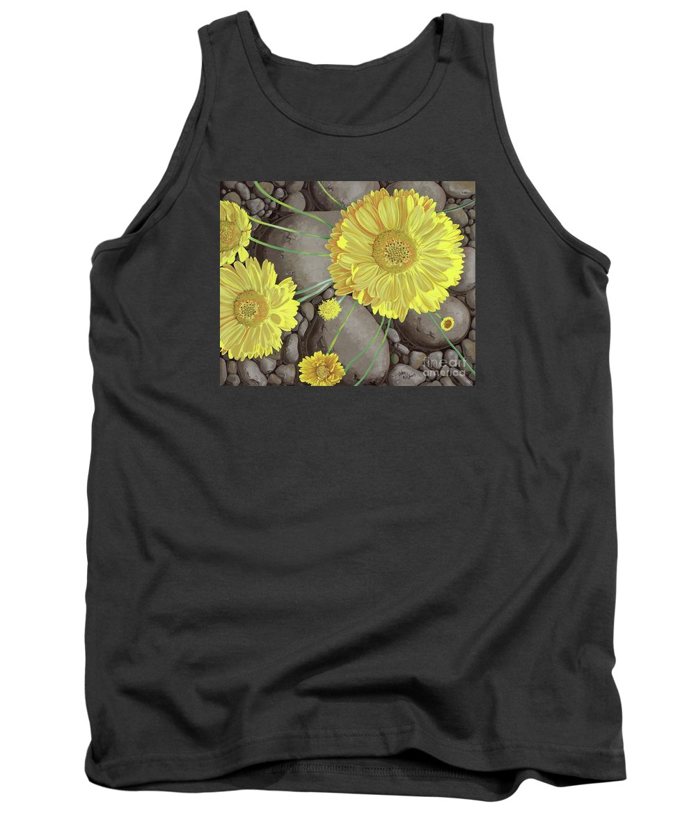 Marigolds Tank Top featuring the painting Mary Ann by John Wilson
