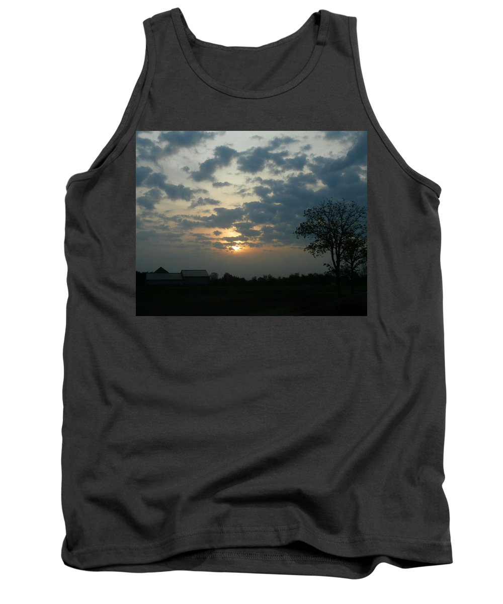 Spring Tank Top featuring the photograph May Morning by Dan McCafferty